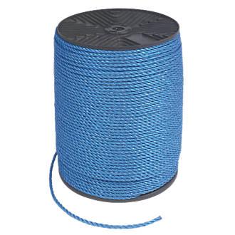 Polypropylene Rope Blue 6mm x 500m