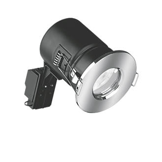 Aurora  Fixed  Fire Rated LED Downlight Polished Chrome 500lm 5W 240V