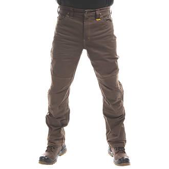 """DeWalt Madison Trousers Khaki 34"""" W 31"""" L"""