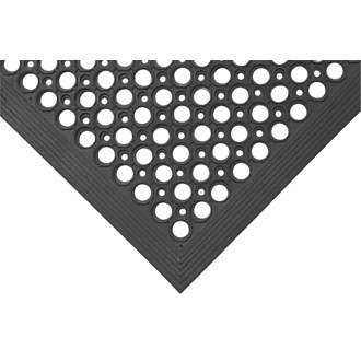 COBA Europe Rampmat Anti-Fatigue Floor Mat Black 1200 x 800mm