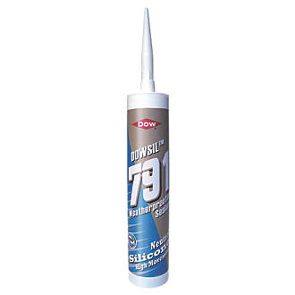 Dow 791 Weatherproofing Silicone Sealant Brown 310ml