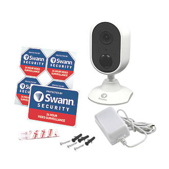 Swann  Mains-Powered  Wired or Wireless 1080p Indoor  Wi-Fi Indoor Powered Camera