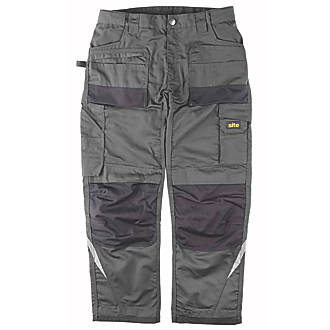 "Site Himalaya Work Trousers Grey 30"" W 32/34"" L"