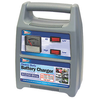 Streetwize SWBCG8 4-8A Battery Charger 6 / 12V