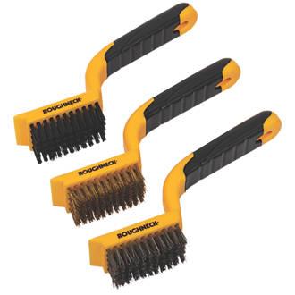 Roughneck Wide Wire Brush Set 3 Pieces