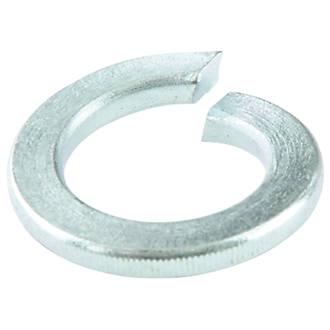Easyfix Steel Split Ring Washers M8 x 2mm 100 Pack