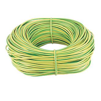Green/Yellow Sleeving 4mm x 100m