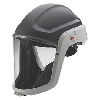 3M Versaflo M-306 Helmet & Visor Black / Grey