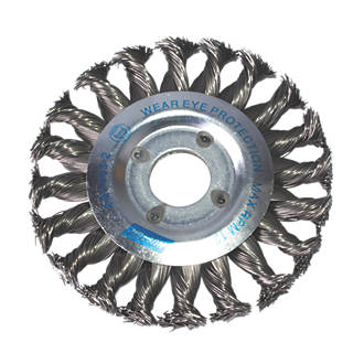 Norton Expert Twist Knotted Wire Wheel Brush 115mm