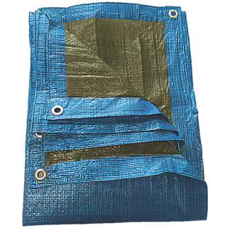 NDC Polythenes Tarpaulin Blue 5 x 8m