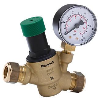 Honeywell Home Pressure Reducing Valve 15mm x 15mm