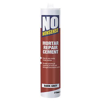 No Nonsense Mortar Repair Dark Grey 310ml