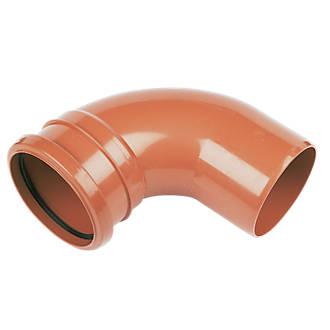 FloPlast Single Socket Bend 87.5° 110mm