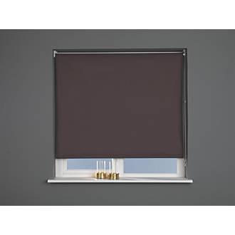 Roller Blackout Blind Brown 600 x 1700mm Drop