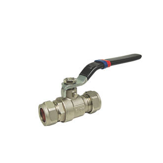 Lever Ball Valve Red / Blue 15mm