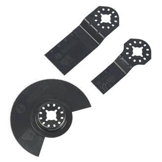 Bosch  Wood/Metal Plunge Cutting Blades 3 Pcs