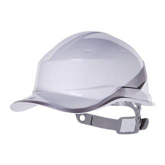 Delta Plus Diamond V Reversible Safety Helmet  White