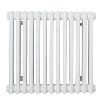 Acova Classic 3-Column Horizontal Radiator 500 x 628mm White 2290BTU