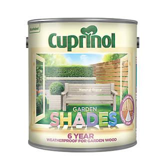 Cuprinol Garden Shades Wood Paint Matt Natural Stone 2.5Ltr