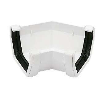 FloPlast Square Line 135° Gutter Angle 114mm White