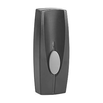 Byron  Wireless Doorbell Bell Push Black