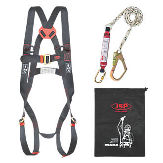 JSP Spartan Single Tail Fall Arrest Kit with Lanyard 2m