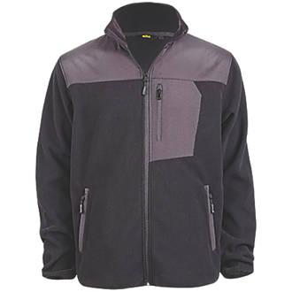 "Site Teak Fleece Jacket Black Medium 38-40"" Chest"