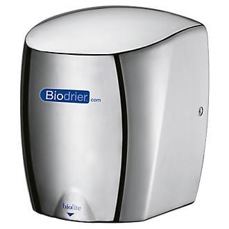 Biodrier Biolite High Speed Low Energy Hand Dryer Chrome 0.65-0.9kW