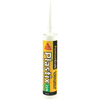 Sika Sika Plastix uPVC Sealant Translucent 300ml
