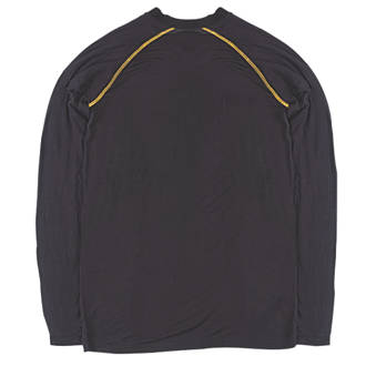 """Site  Base Layer Top Black Large 42"""" Chest"""