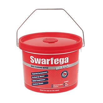 Swarfega Box Wipes Red 150 Pack