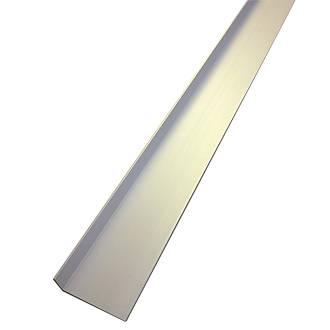 Alfer Anodised Aluminium Angle 1000 x 40 x 15mm