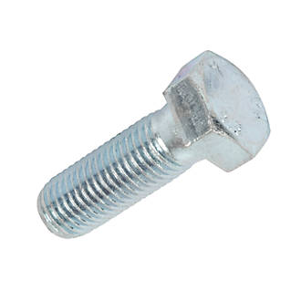 Easyfix 87521 Bright Zinc-Plated High Tensile Steel Hex Bolts M20 x 60mm 25 Pack