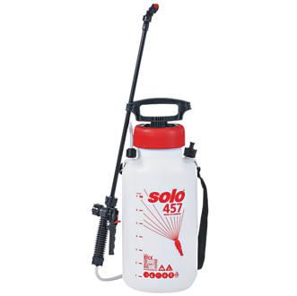 Solo SO457 White Manual Pressure Sprayer 7Ltr