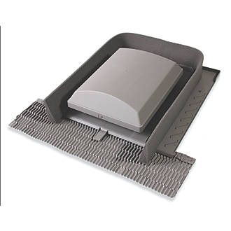 Glidevale Universal Tile Ventilator Grey