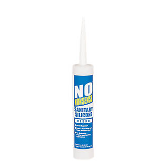 No Nonsense  Sanitary Silicone Clear 310ml