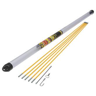 C.K Mighty Rod PRO 6mm Flexible Cable Rod Starter Set 5m