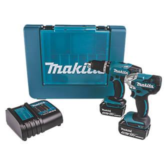Makita DLX2336S 18V 3.0Ah Li-Ion LXT  Cordless Twin Pack