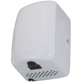 Compact High Speed Hand Dryer White 1.3kW