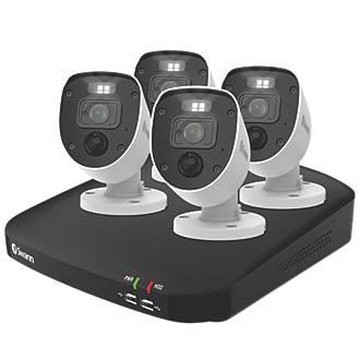 Swann SWDVK-846804-EU 8-Channel CCTV DVR Kit & 4 Cameras