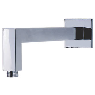 Cassellie Square Shower Arm Chrome 393 x 25mm