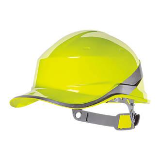 Delta Plus Diamond V Reversible Safety Helmet Yellow