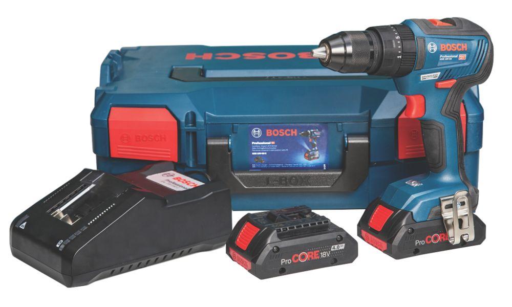 Bosch 06019H5372 18V 4.0Ah Li-Ion Coolpack Brushless Cordless Combi Drill