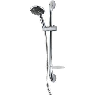 Triton Luxury Shower Kit Modern Design Chrome