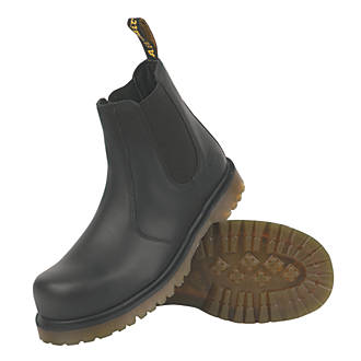 Dr Martens Icon 2228   Safety Dealer Boots Black Size 11