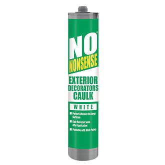 No Nonsense Exterior Decorators Caulk White 310ml