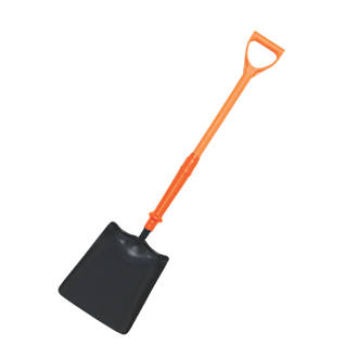 Spear & Jackson Square Head Insulated Treaded Square Mouth Shovel