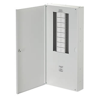 Wylex NH 16-Way Meter Ready 3-Phase Distribution Board