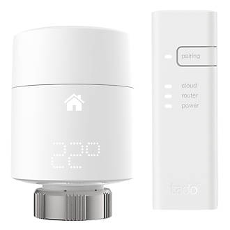 Tado   Smart Radiator Thermostat Starter Kit White