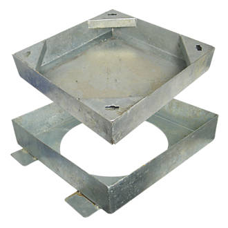 FloPlast Square to Round Block Paving Cover